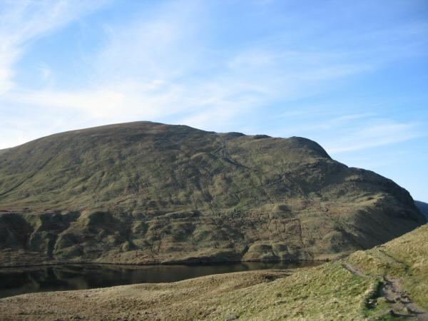 Dollywaggon Pike from Grisedale Hause