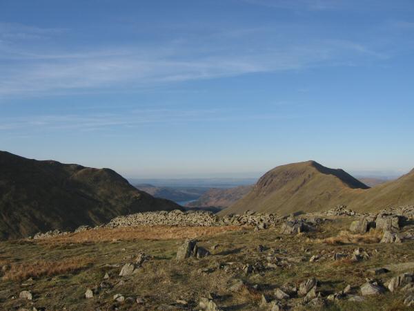 Saint Sunday Crag from Seat Sandal's summit