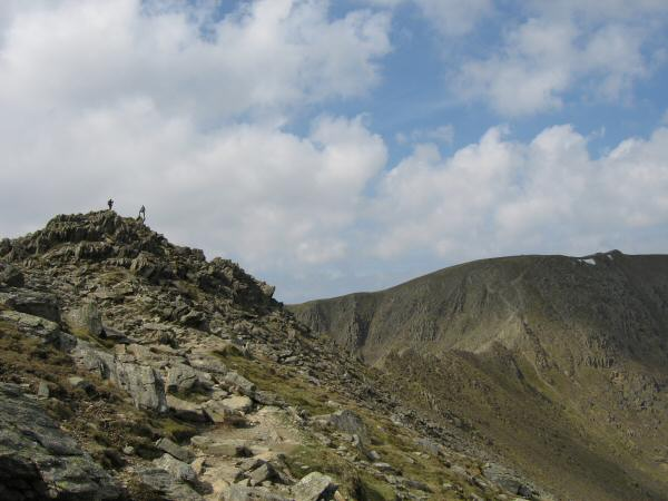 High Spying How, Striding Edge and Helvellyn