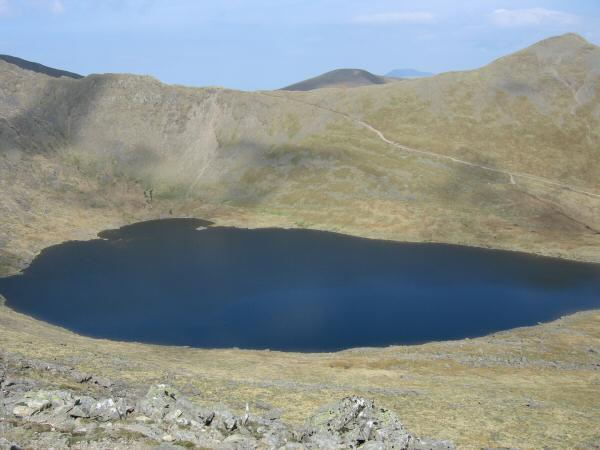 Red Tarn with Catstycam on the far right