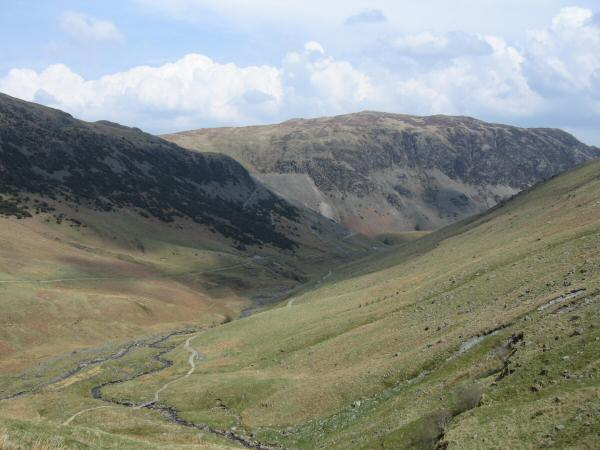 Sheffield Pike from the Red Tarn Beck path