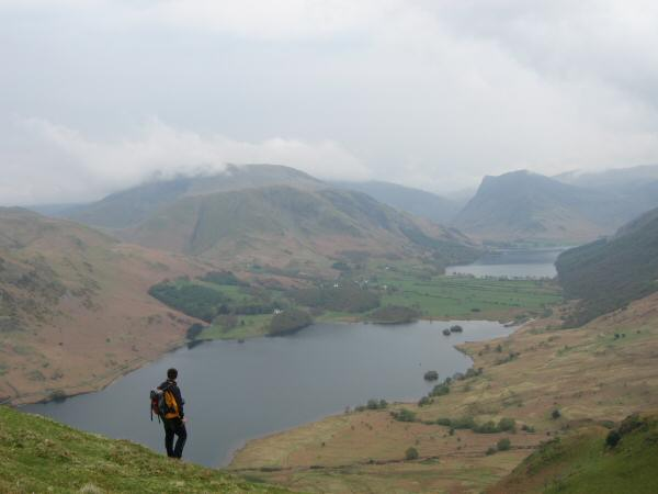 Crummock Water and Buttermere again from lower down