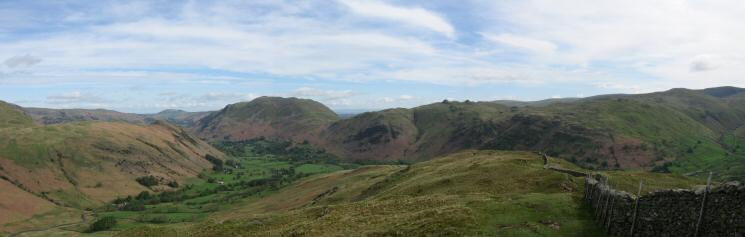 Looking back down the Hartsop Above How ridge