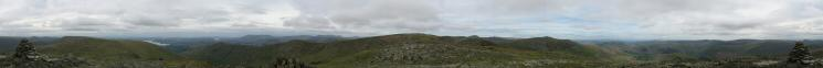 360 Panorama from Hart Crag's summit