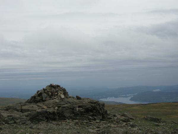 Windermere from Dove Crag's summit