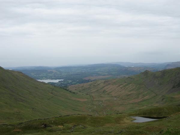 Scandale with Scandale Tarn in the foreground