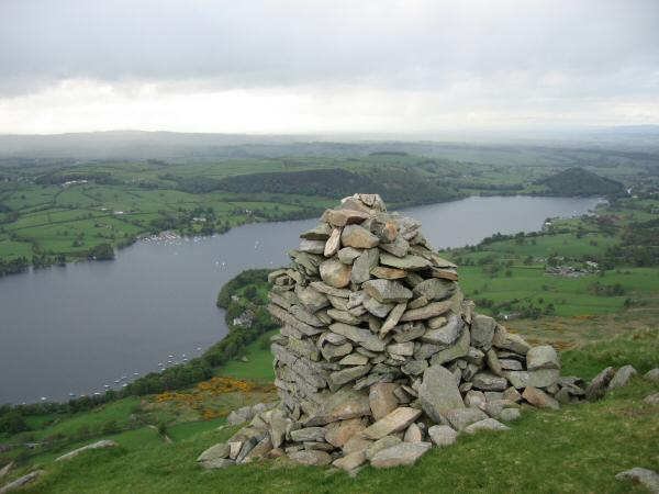 Ullswater from the beacon on Arthur's Pike