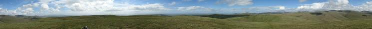 360 Panorama from Lank Rigg's summit