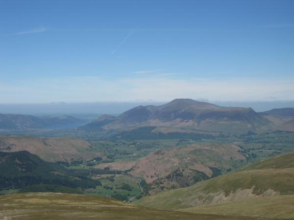 Skiddaw from White Side's summit