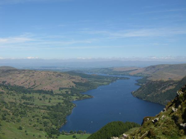 Ullswater from Heron Pike