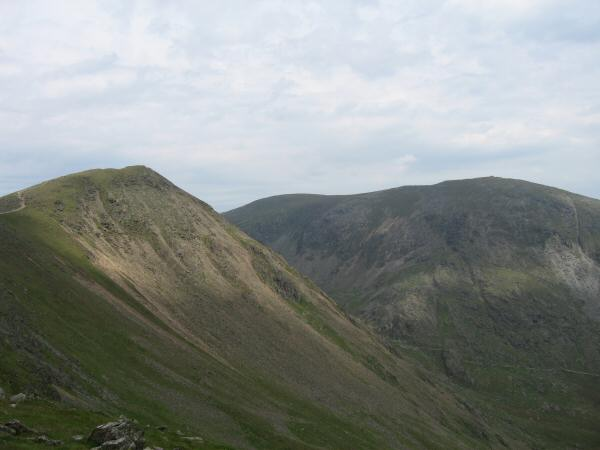 Buck Pike and Coniston Old Man from Brown Pike
