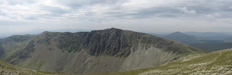 Brown Pike, Buck Pike and Dow Crag from Coniston Old Man