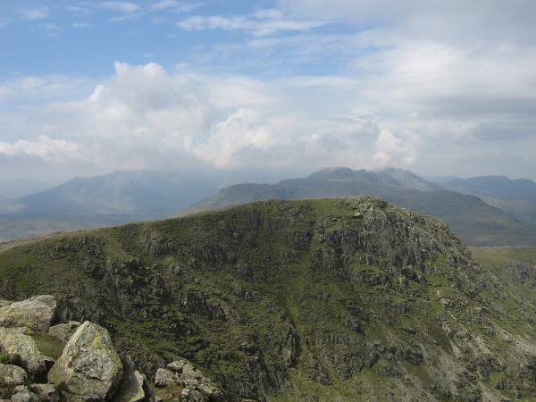 Great Carrs from Swirl How's summit