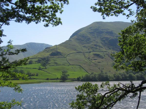Looking across Brothers Water to Hartsop Dodd, our next fell on today's walk
