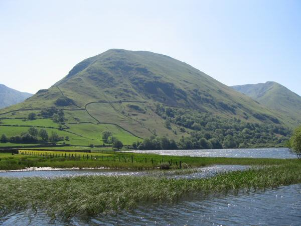 Hartsop Dodd with Rough Edge leading onto Caudale Moor on the right