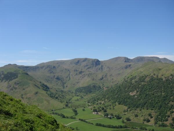 Dovedale with Dove Crag at its head