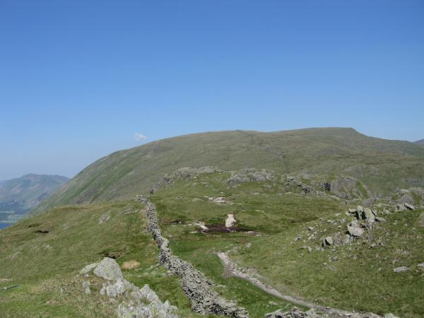 Looking back towards Caudale Moor from St Raven's Edge