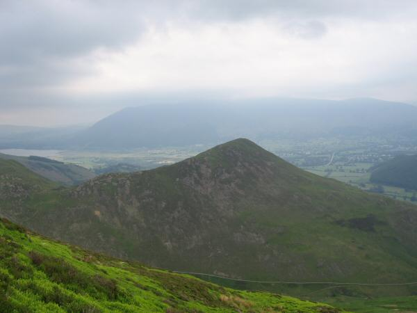 Barrow from Causey Pike