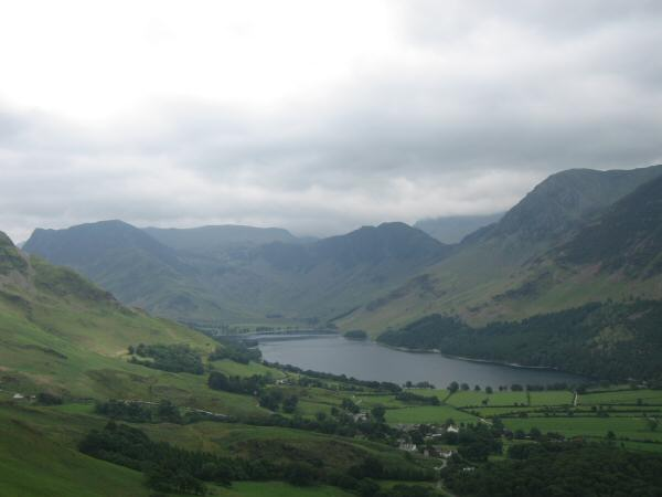 Buttermere from Rannerdale Knotts