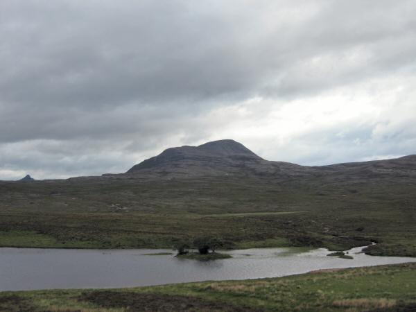 Canisp from the north end of Loch Awe