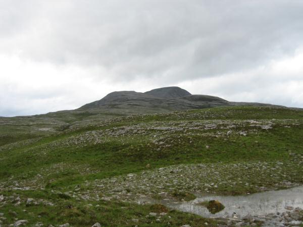 Canisp's wide south east ridge
