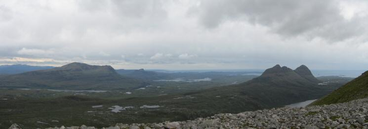 Cul Mor and Suilven