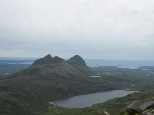 Suilven and Loch na Gainimh