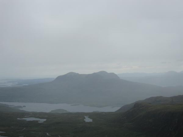 Quinag from Canisp's summit