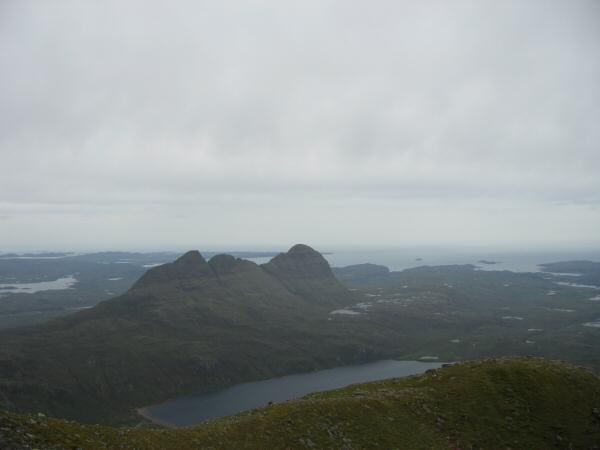 Suilven from Canisp's summit