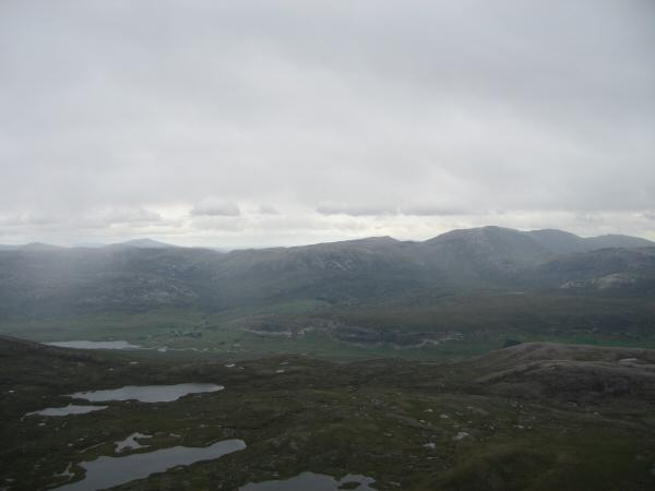 Looking east from Canisp