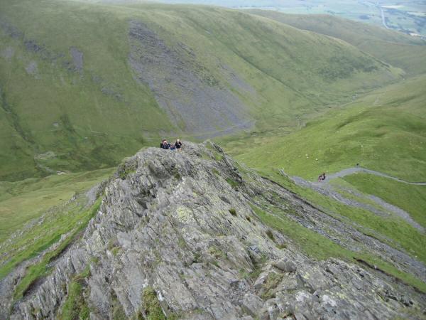 The end (or start if ascending) of Sharp Edge