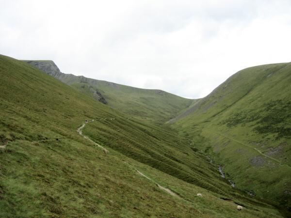 The River Glenderamackin with Sharp Edge on the left