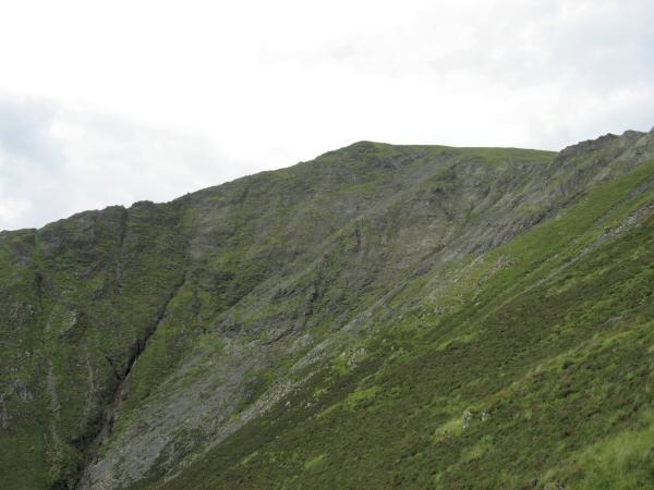 Hallsfell Top from Doddick Fell