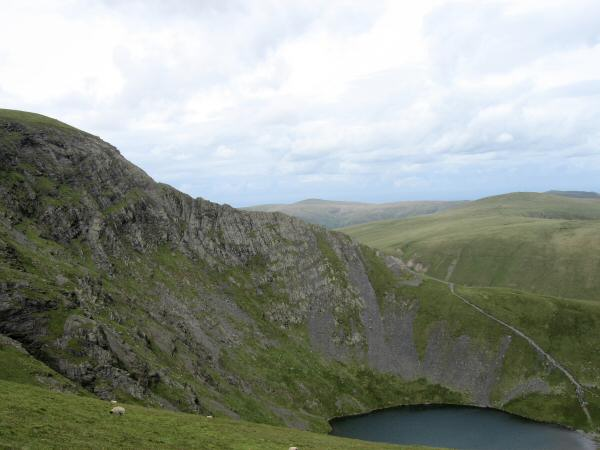 Sharp Edge and Scales Tarn from Scales Fell