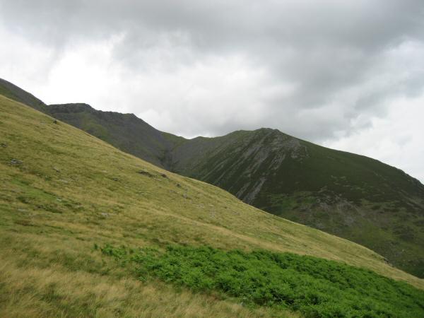 Gategill Fell from above Threlkeld