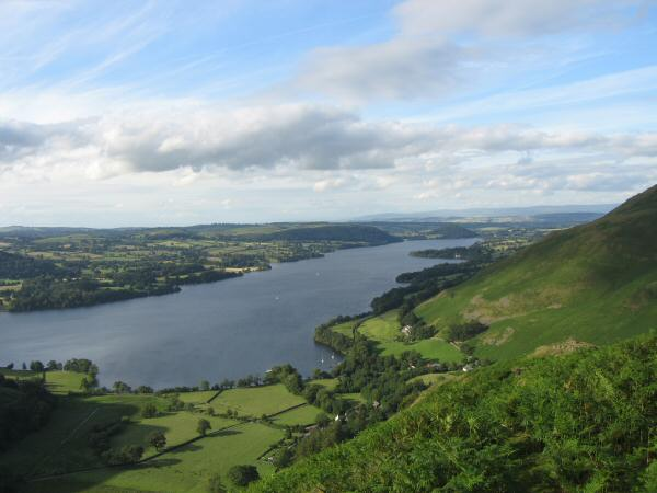 Ullswater from Steel Knotts