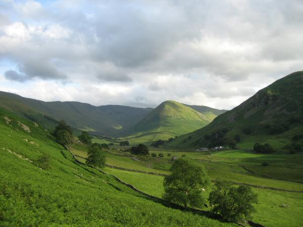 The Nab from near Martindale Old Church