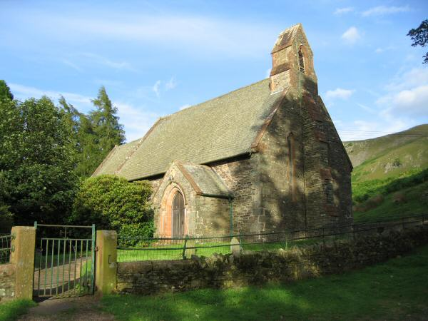 St. Peter's church, Martindale