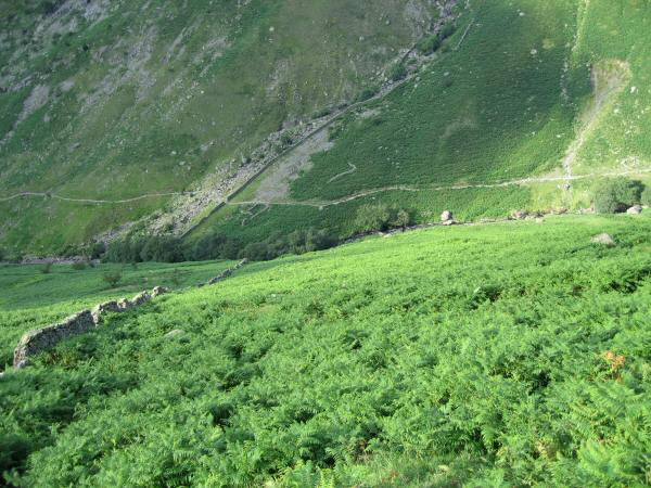 Greenup Gill with the Coast-to-Coast path