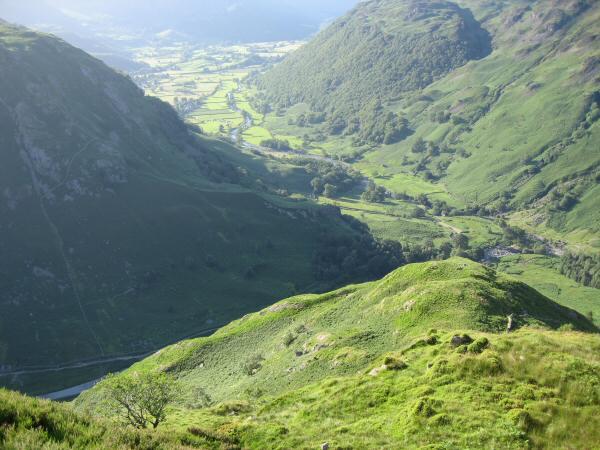 Bleak How and the Stonethwaite valley