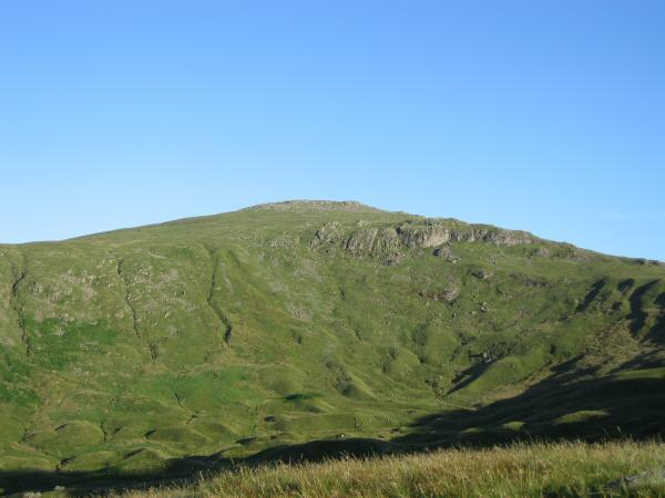 Low White Stones at the head of Greenup Gill