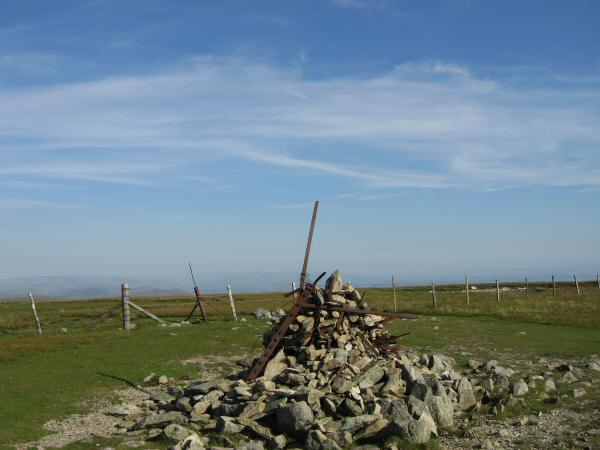 Harter Fell's summit cairn