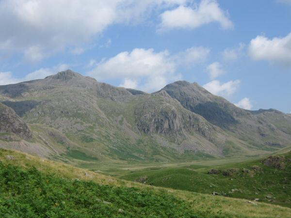 Scafell Pike, Pen and Ill Crag