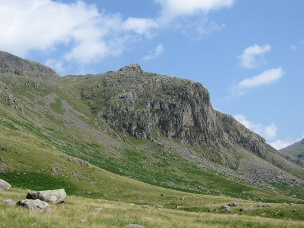 Pen on top of Dow Crag (Esk Buttress)