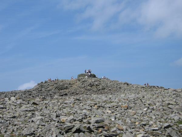 Scafell Pike's summit