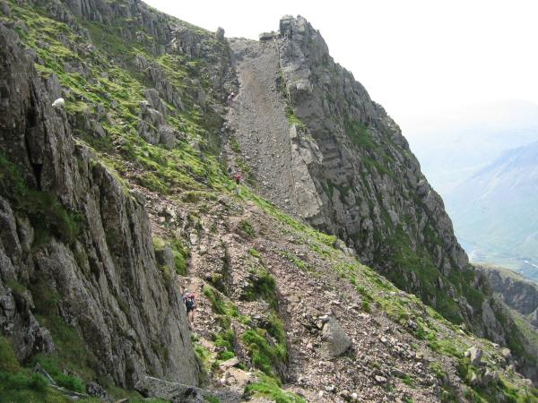 The third and final up section of Lord's Rake