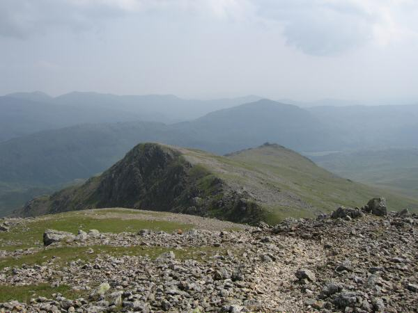 Long Green and Slight Side from Scafell