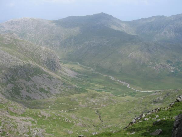 Looking down on Great Moss
