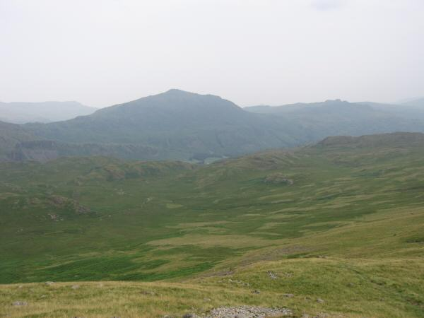 Harter Fell from the descent off Slight Side