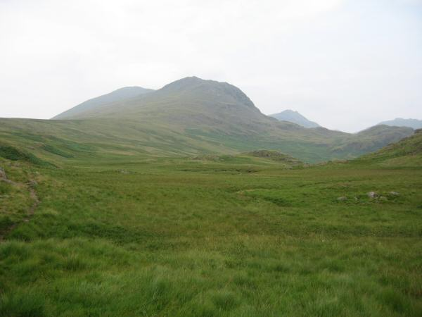Looking back to Slight Side from near Catcove Beck